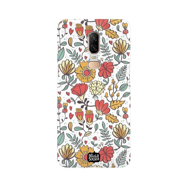 Big Flowers - OnePlus 6 Phone Cover