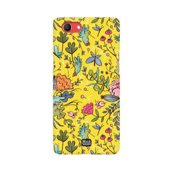 Humming Bird - Yellow - Realme 1 Phone Cover