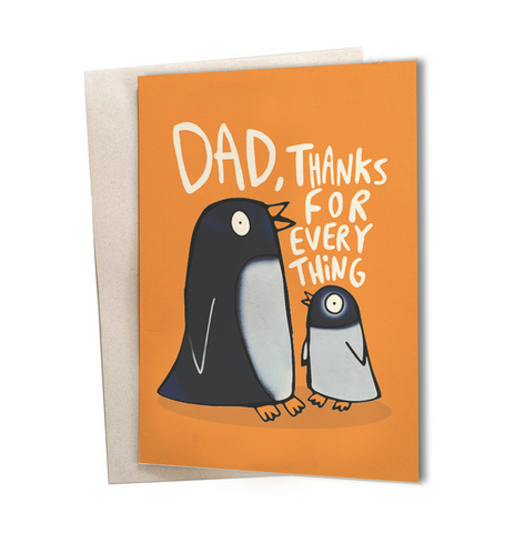 Dad, Thanks for everthing Greeting Card
