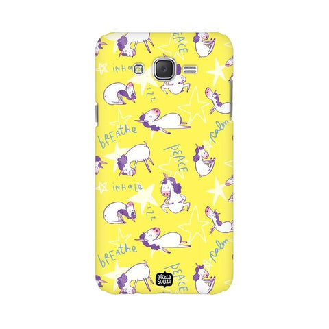 Yoga Unicorn - Samsung Galaxy J7 -  Phone Cover