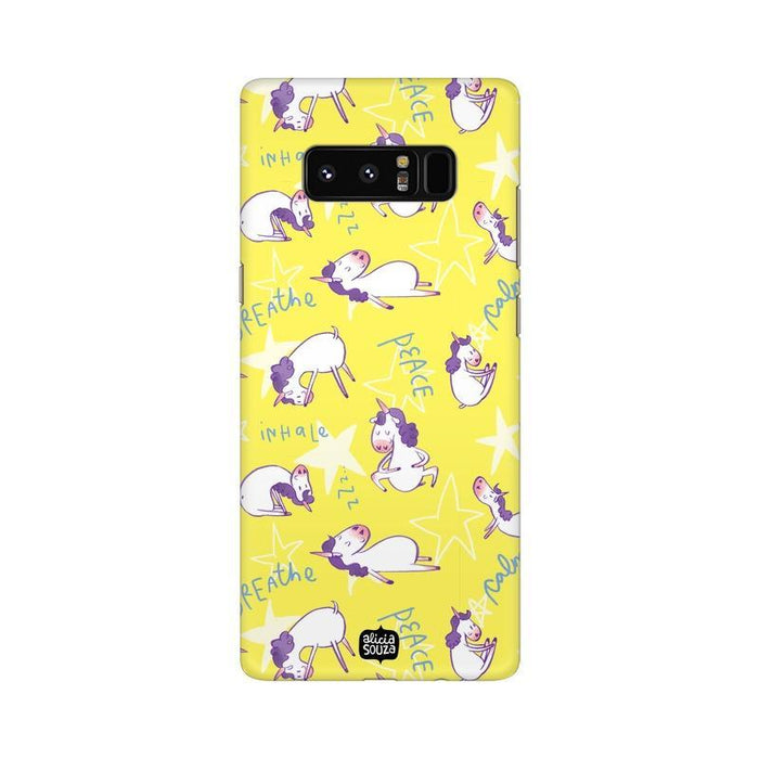 Yoga Unicorn - Samsung Galaxy Note 8 -  Phone Cover