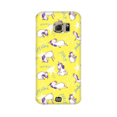 Yoga Unicorn - Samsung Galaxy S7 -  Phone Cover