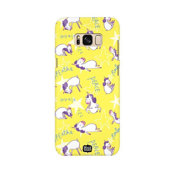 Yoga Unicorn - Samsung Galaxy S8 -  Phone Cover