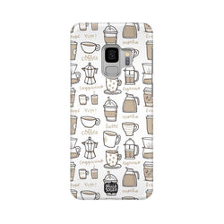 Coffee - Samsung S9 Phone Cover