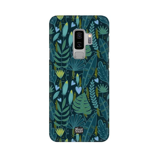 Green Leaves - Samsung S9+ Phone Cover