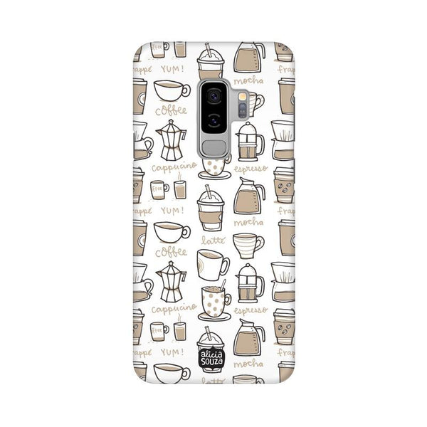 Coffee - Samsung S9+ Phone Cover