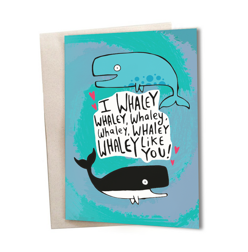 Whaley card Greeting Card