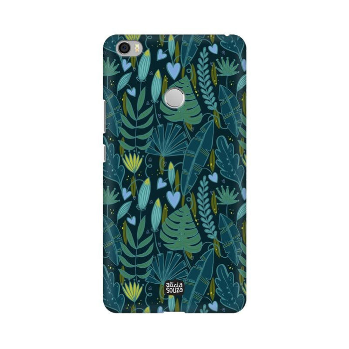 Green Leaves - Mi Max Phone Cover