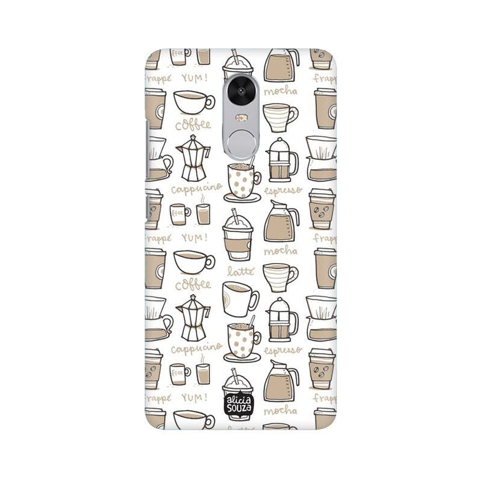 Coffee - Redmi Note 4 Phone Cover