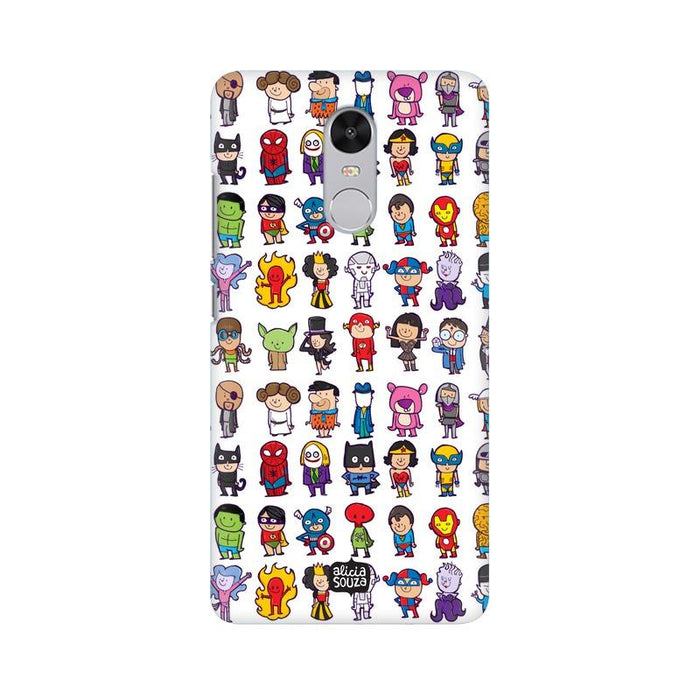Superhero - Redmi Note 4 Phone Cover