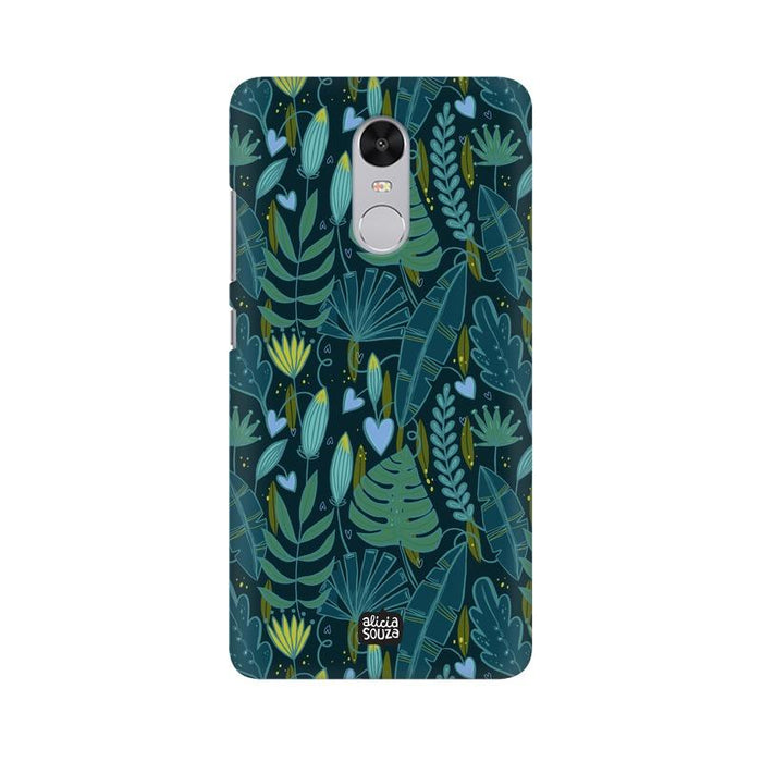 Green Leaves - Redmi Note 4 Phone Cover