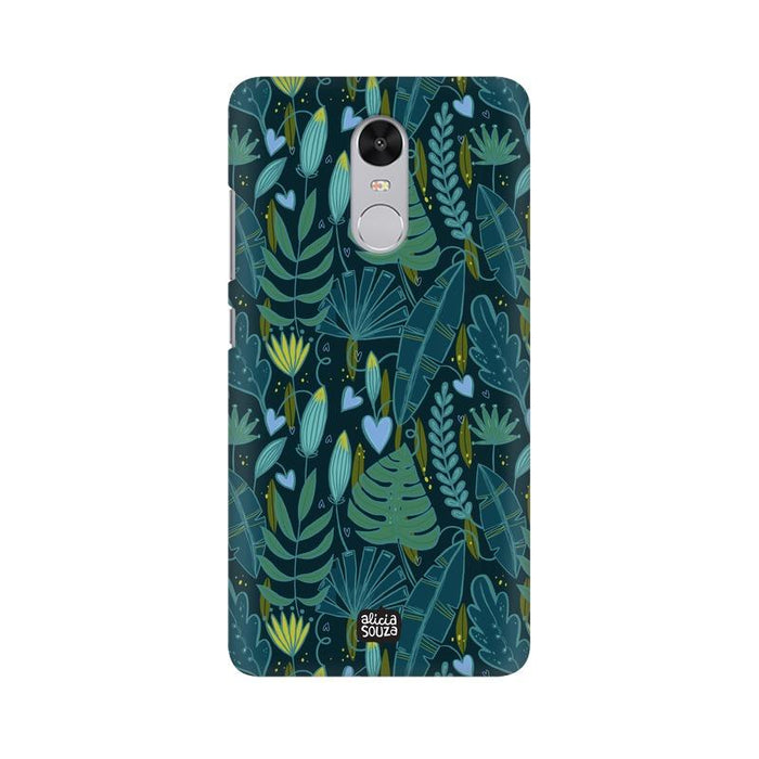 Green Leaves - Redmi Note 4x Phone Cover
