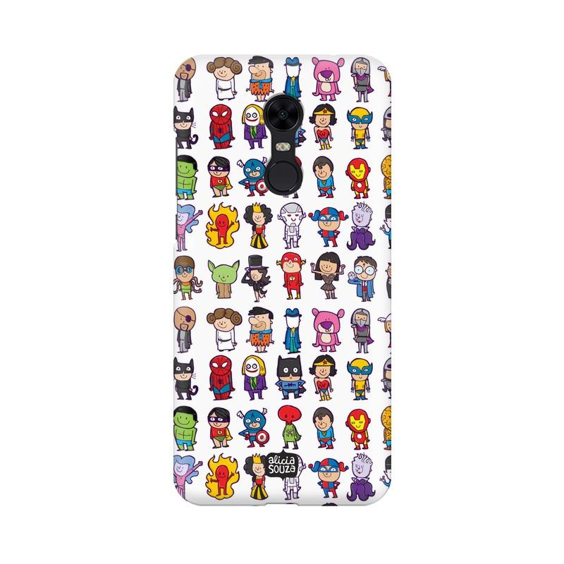 Superhero - Redmi Note 5 Phone Cover