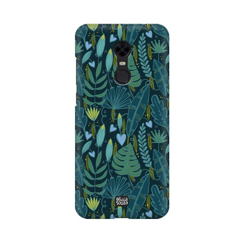 Green Leaves - Redmi Note 5 Phone Cover
