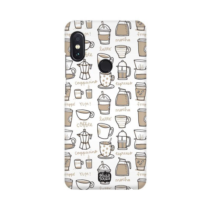Coffee - Redmi Note 5 Pro Phone Cover