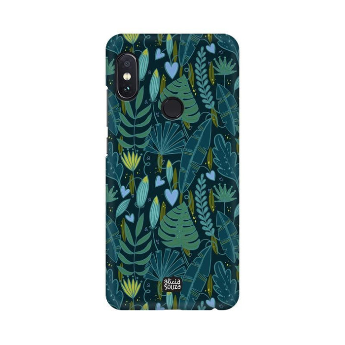 Green Leaves - Redmi Note 5 Pro Phone Cover