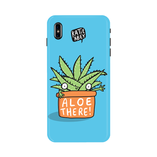 Aloe There - iPhone X Phone Cover