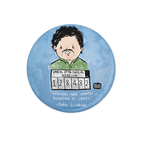 Pablo Escobar badge