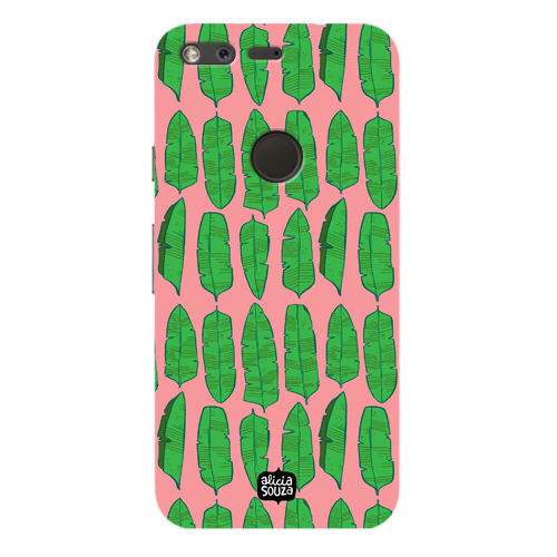 Banana Leaves - Google Pixel Phone Cover
