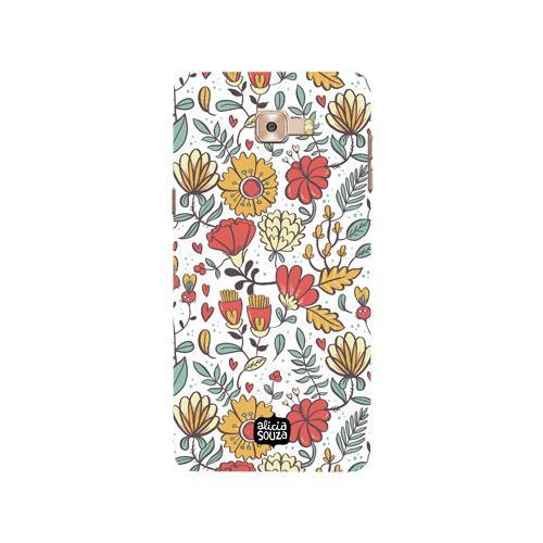 Big Flowers - Samsung Galaxy C9 Pro Phone Cover