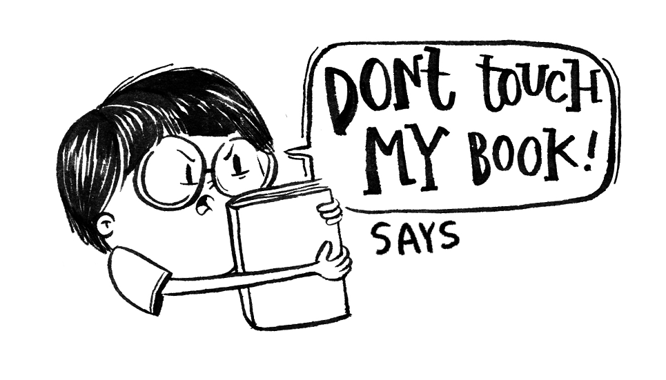 Don't Touch Book Stamp - BOY - Alicia Souza