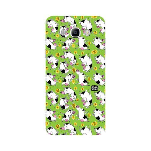 Dancing Cow - Samsung Galaxy J7 Phone Cover
