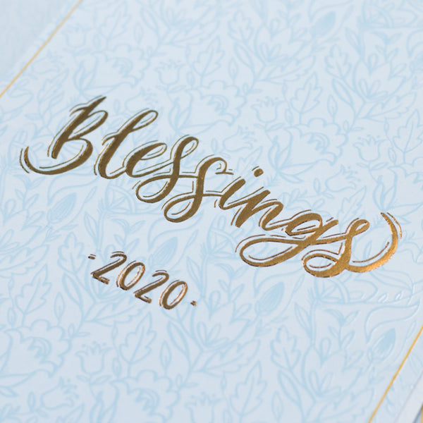 PRE ORDER : The Blessings - 2020 Wall Calendar