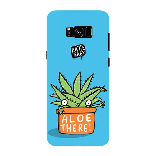 Aloe There - Samsung Galaxy S8 Plus - Phone Cover