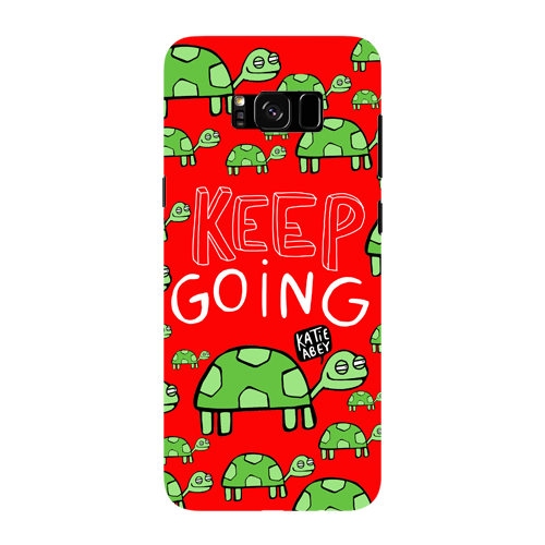 Keep Going - Samsung Galaxy S8 Plus - Phone Cover