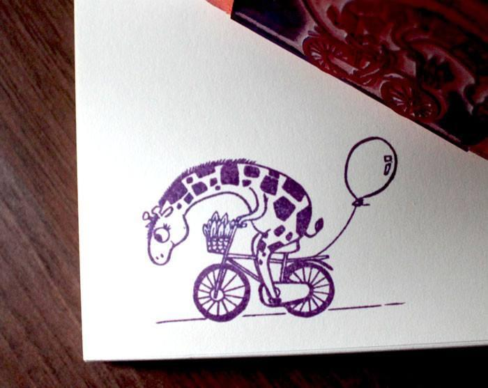 Giraffe BIG Stamp