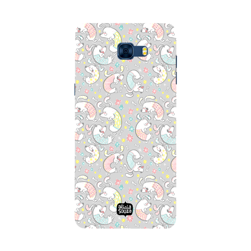 Curly Dog - Samsung Galaxy C7 Pro Phone Cover
