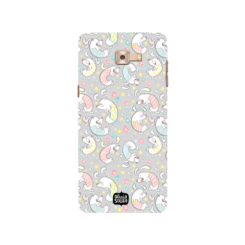 Curly Dog - Samsung Galaxy C9 Pro Phone Cover