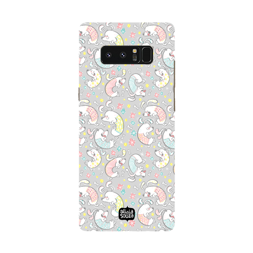 Curly Dog - Samsung Galaxy Note 8 Phone Cover