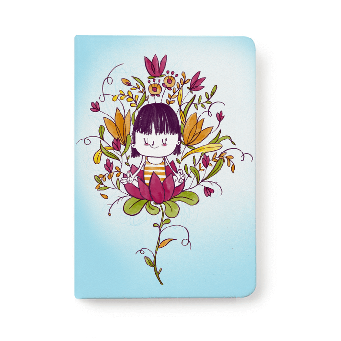 Jotbook - Yoga Flower Jotbook
