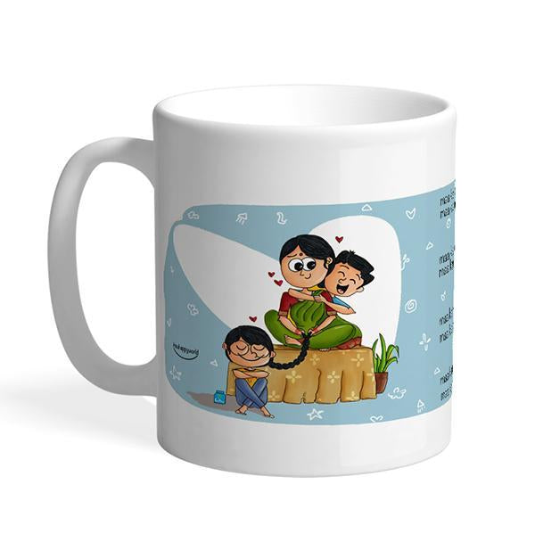 Maa ka matlab Mug for your Mom to make her feel special on this  Mother's Day. Buy now Maa ka Mtlab Mug by Itsahappyworld on Happy Wagon.