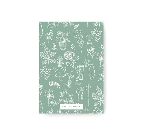 Flourish Pocket Notebook - TheInkBucketstore