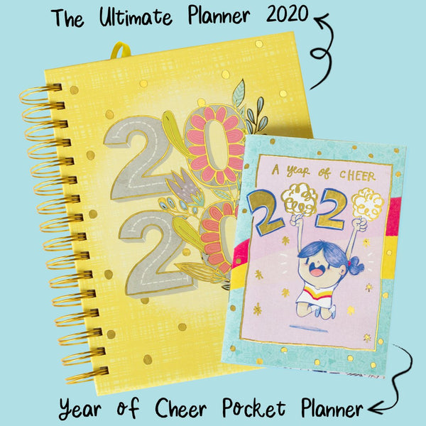 PRE ORDER : The Ultimate Planner 2020 (With FREE Year of Cheer Pocket Planner)