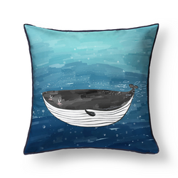 Seaworld dual-sided Cushion cover