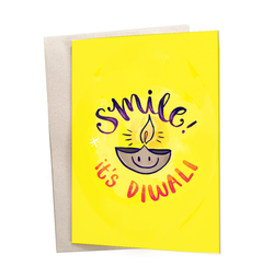 Smile It's Diwali Greeting Card