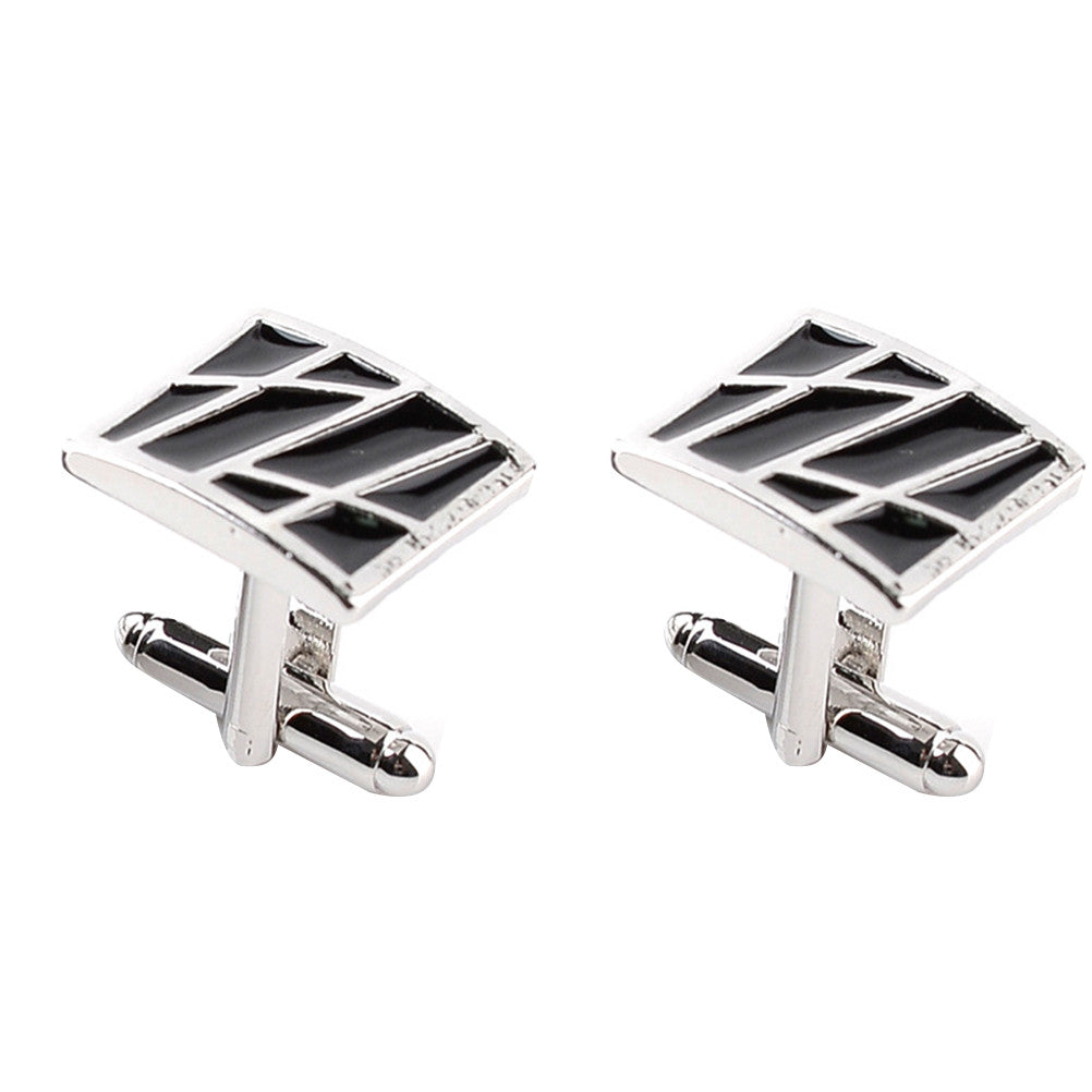2pc Men Square Cufflinks