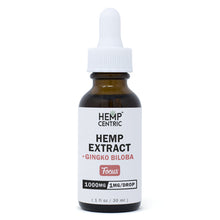 Load image into Gallery viewer, FOCUS | Hemp Extract with Ginko Biloba Extract Tincture (30ml)