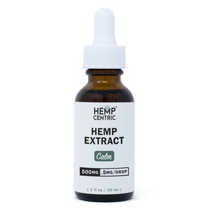 CALM | Hemp Extract Tincture (30ml)