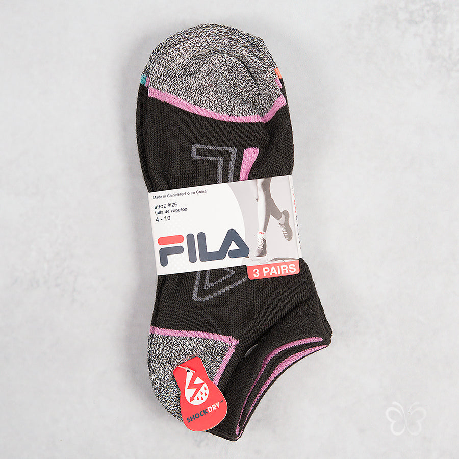 FILA Shock Dry Ankle Socks