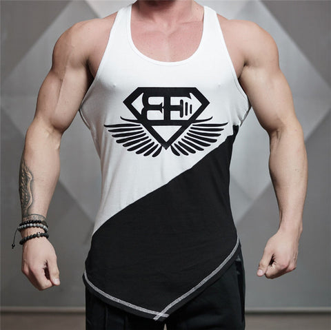 2f1ce003 Men Tank Top Army Camo Camouflage Mens Bodybuilding Stringers Tank Tops  Singlet Brand Clothing Fitness Sleeveless