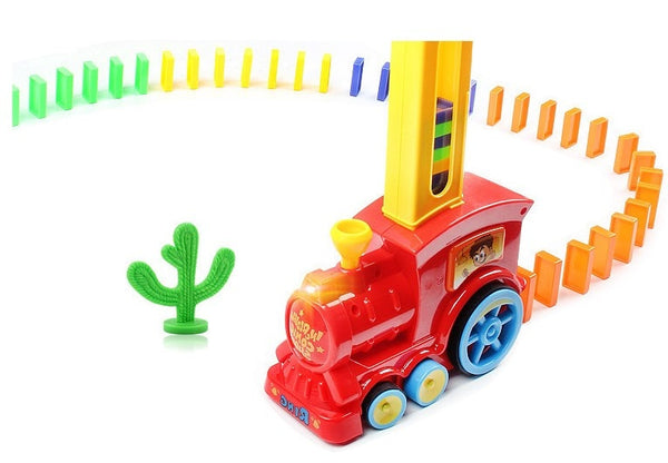 Train automatique pose domino