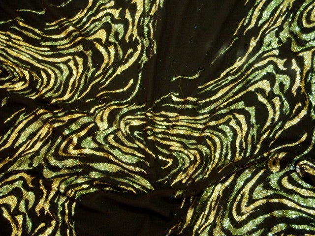 Abstract - Glitter Georgette