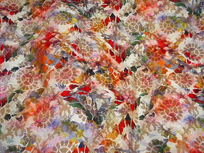 Abstract  - Digital Printed Brocade