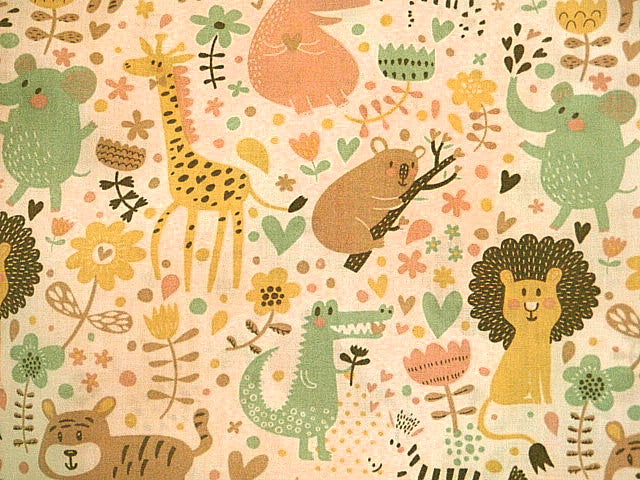 Jungle Novelty Print - Poly/Cotton Print