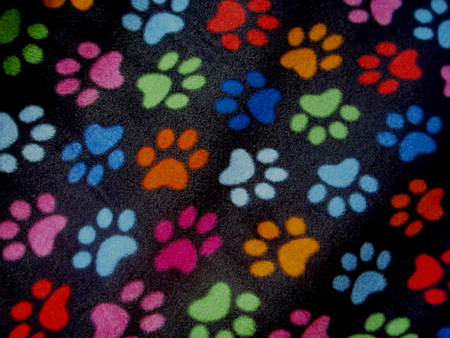 Paws - Fleece Print