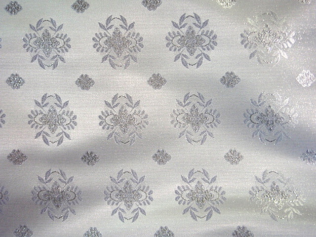 Bridal Brocade Jacquard - Small Damask